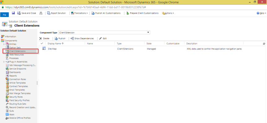 dynamics 365 site map editor first look crmindian com